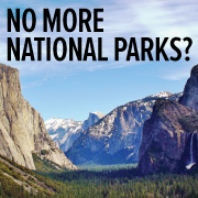 No More National Parks?